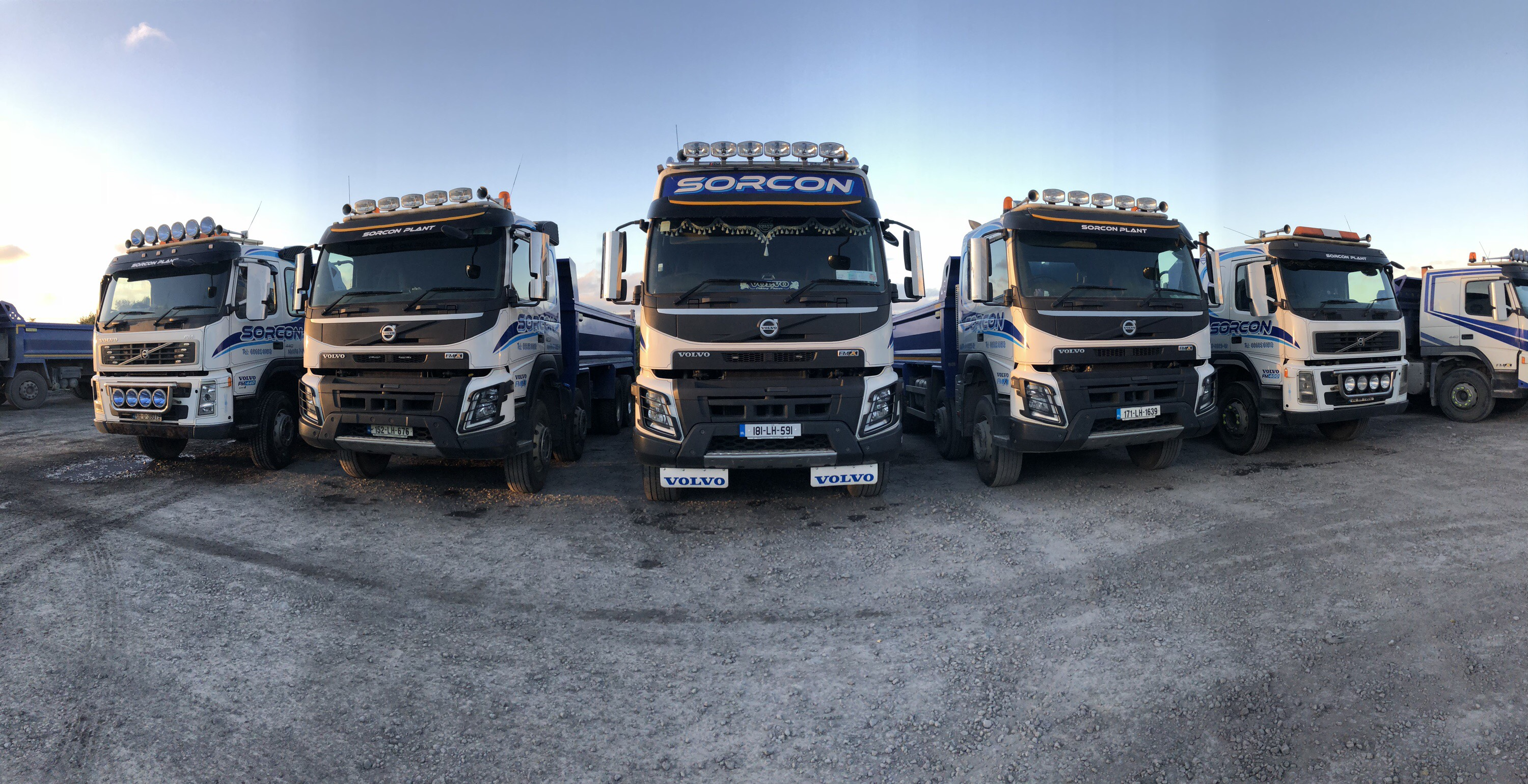 Pictures of trucks at work